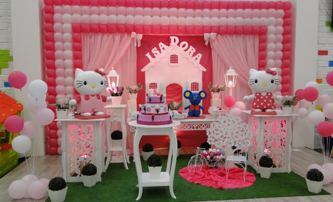 festa hello kitty, aniversario,